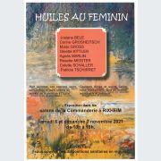 Exposition intitulée Huiles au féminin