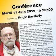 Conférence : Rencontre avec Serge Barthély