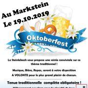 Soirée Oktoberfest au Markstein