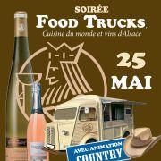 Soirée Food Trucks - vins et cuisine du monde