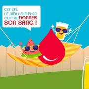 Cet été, donnez votre sang à Strasbourg