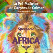 Africa - spectacle de la Pré-Maîtrise de Garçons de Colmar