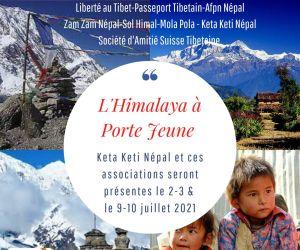L\'Himalaya à la porte jeune à Mulhouse