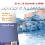Exposition d\'Aquarellistes