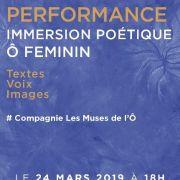 Immersion Poétique Ô Féminin