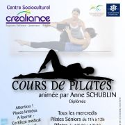 Gym Pilates au CSC Créaliance