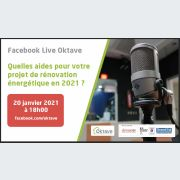 Facebok live : Rénovation énérgétique, tout savoir sur les aides