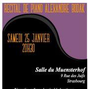 Récital de piano Alexandre Bodak