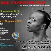 Stage de danse africaine avec Merlin Nyakam