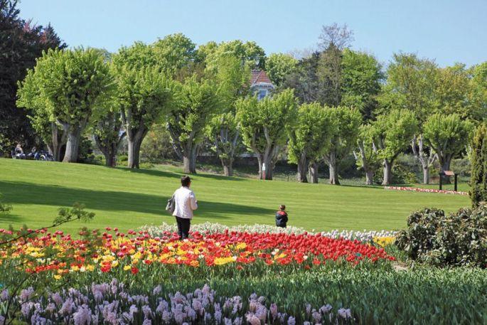 Mulhouse, ici le parc botanique du zoo