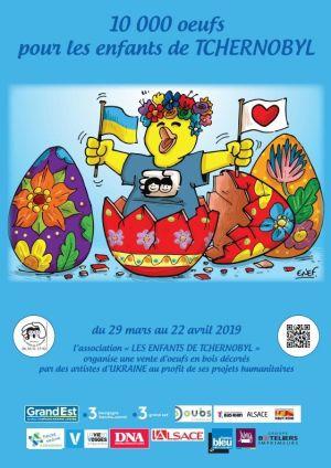 10 000 œufs pour les enfants de Tchernobyl
