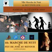 10ème Marche de Nuit de Dettwiller 2019