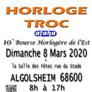 10e Bourse Horlogère du Grand Est Horloge-Troc 2020