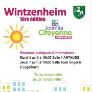 Journée Citoyenne à Wintzenheim