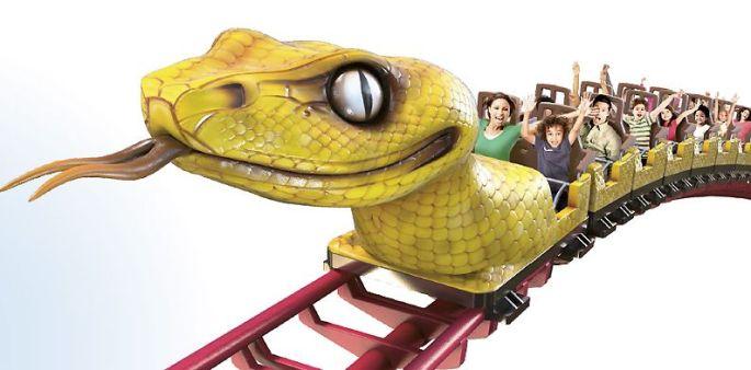 Le Serpent, nouveau grand-huit du Parc du Petit Prince, sera inauguré au mois d\'avril 2017