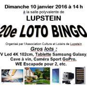 20e Grand loto Bingo