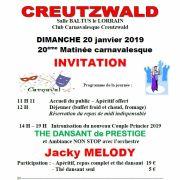20ème Matinée carnavalesque à Creutzwald