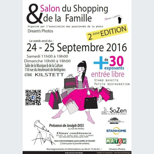 2 me edition du salon du shopping et de la famille kilstett salle de la musique et de la culture - Salon de la musique strasbourg ...