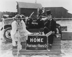 Extrait du film La maison démontable (One Week - 1920)