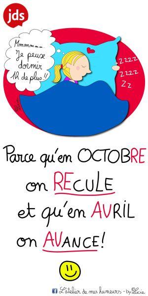 29 octobre : Passage à l\'horaire d\'hiver