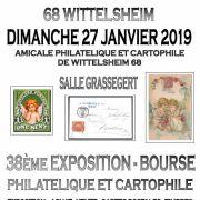 38e Expo-bourse philatélique et cartophile à Wittelsheim
