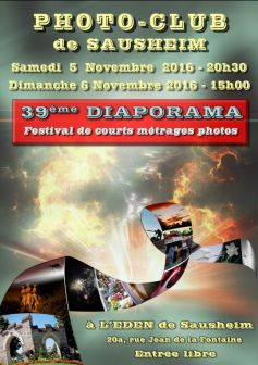 39ème Diaporama du Photo Club de Sausheim