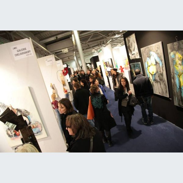 Exposition 3 me salon d art contemporain art3f 2014 - Salon art contemporain ...