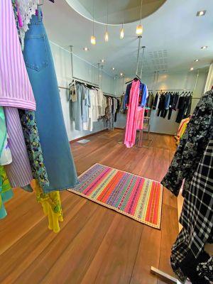 La boutique de vêtements éthique 4Y à Mulhouse
