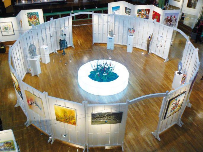 La salle Grassegert à Wittelsheim accueille les artistes de la région