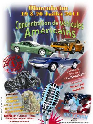 4ème Concentration de Véhicules Américains 2014