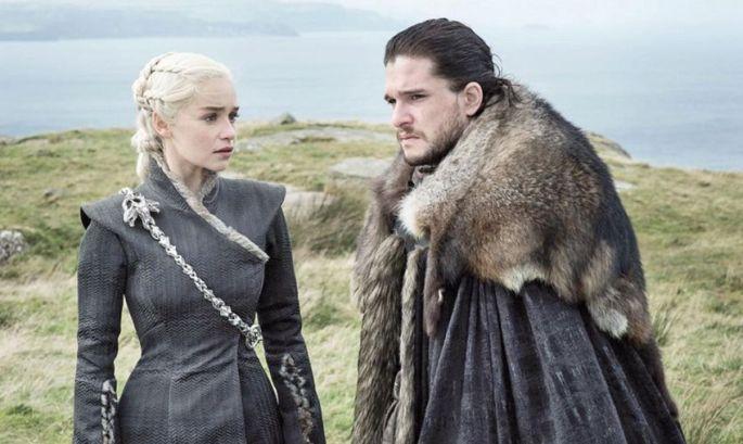 Dany et Jon Snow, hihihi