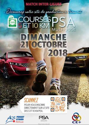 5 et 10 km de PSA Mulhouse
