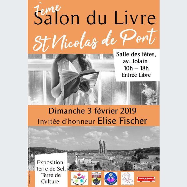 7 me salon du livre de saint nicolas de port 2019 - Salon du livre de saint louis ...