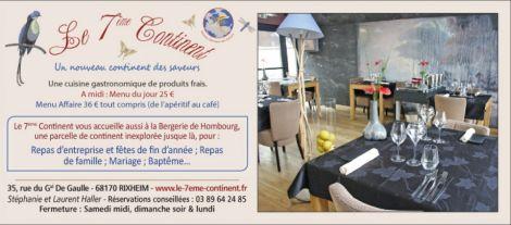 Restaurant Le 7ème Continent à Rixheim