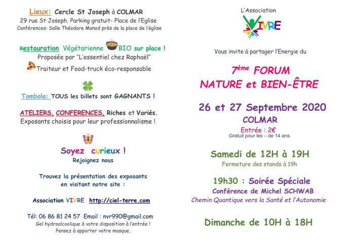7ème Forum Nature- BIEN-ÊTRE