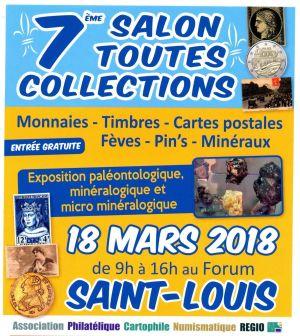 7ème Salon toutes Collections à Saint Louis 2018