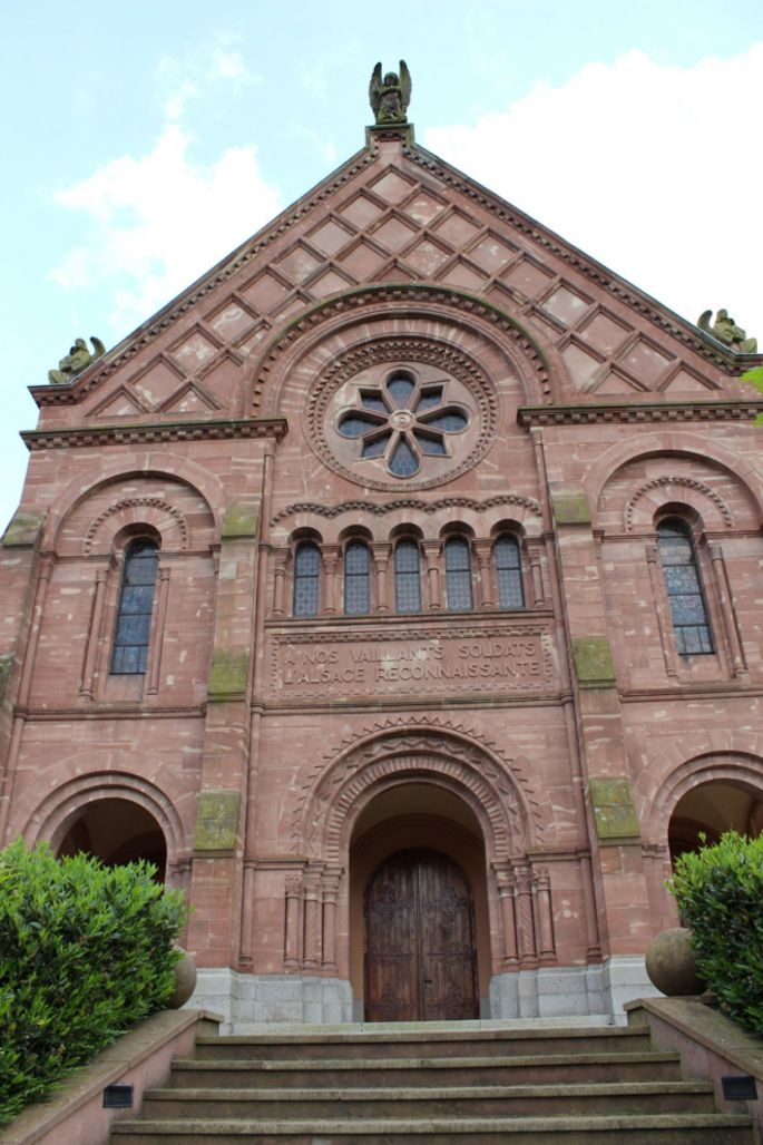L'église Emm à Metzeral