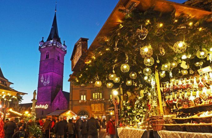 A Obernai : un marché de Noël au pays des Sapins