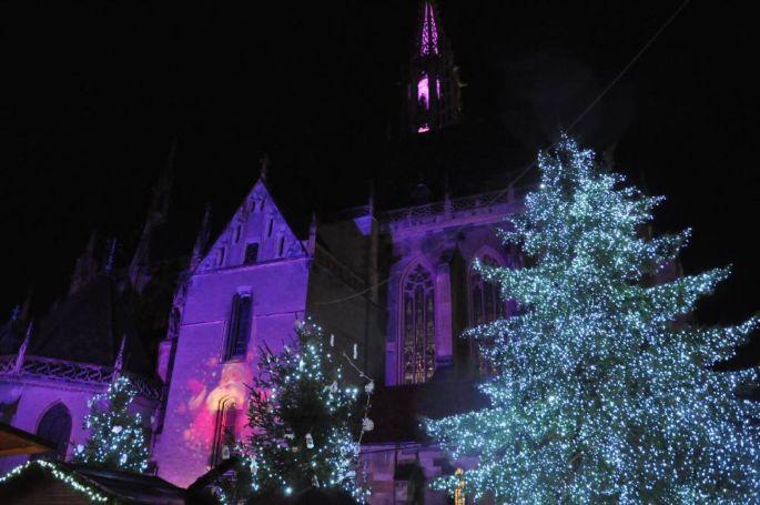 A Thann, un marché de Noël féérique