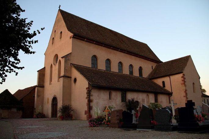 Abbatiale Saint Trophime d\'Eschau
