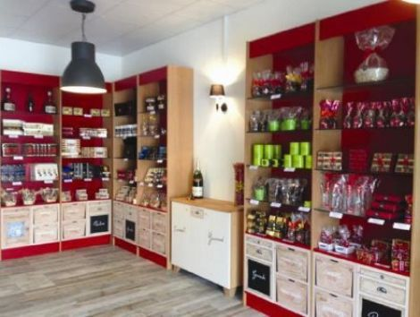 La boutique de la Chocolaterie Abtey