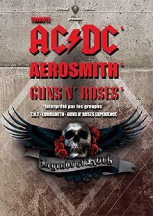 AC/DC + Aerosmith + Gun\'s\'n\'roses