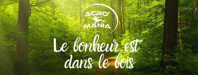 Acro\'Mania: le parc d\'accrobranches à côté de Dijon