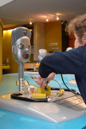 Activité pour un anniversaire au Musée Electropolis de Mulhouse