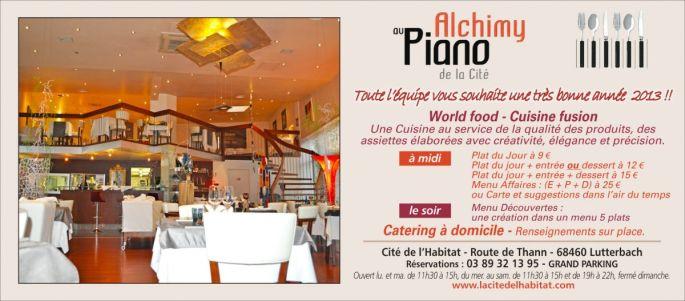 Alchimy au Piano de la Cité