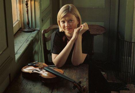 La soliste Alina Ibragimova