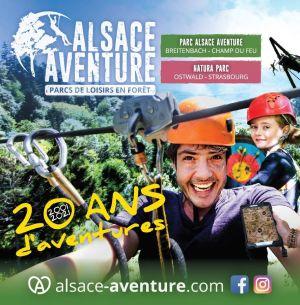 Alsace Aventure - 20 ans d\'aventures