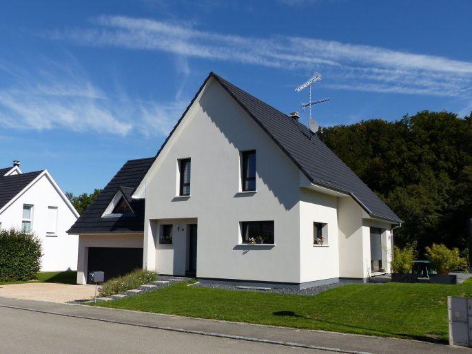Maison construite par Alsace Construction