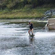 Tester le wakeboard À l\'Oxylane Village