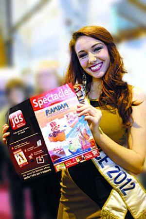 Delphine Wespiser, miss France 2012, est originaire de Magstatt-le-Bas